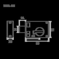 ЗН1АСМ (медь) плоск.ригель Калуга
