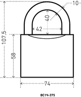 ВС HG-375 С 75 мм.полимер Аллюр
