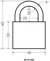 ВС HG-4504(1Ч-4504)  40 мм.(чугунн.корп.) Аллюр