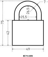 ВС HG-4505(1Ч-4505)  50 мм.(чугунн.корп.) Аллюр