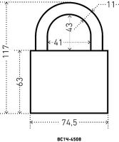 ВС HG-4508  70 мм.(чугунн.корп.) Аллюр