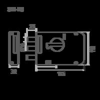ЗН1М3 (медь) 3 ригеля Калуга