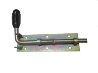 Засов средний с пружиной(400 мм.)