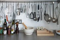 Рейлинг на кухню 0,5 метра,d-16 мм.(сталь 0.7 мм.)(без держателей,заглушек,крючков) хром Soller
