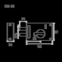 ЗН1М1 (медь) 2 ригеля Калуга