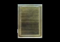 Вент.решетка 170х240 бронз.антик металл. Домарт