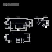 ЗН замок-защелка кодовый ЗКП-2 Меттэм