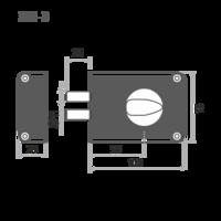 ЗН 1-3 Зенит 2 ригеля серебро