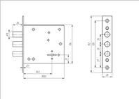 ЗВ 8 842.0.0 (5 кл.) 3 круглых ригеля  б/о Меттэм