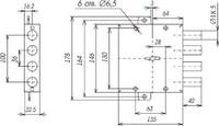 ЗВ ЗВС-1 3 кл. компл. №2 4 ригеля,д.18 мм. Сенат